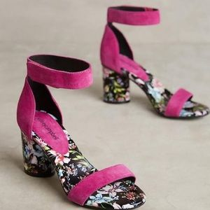 Jeffrey Campbell Purdy one pink heels size 9